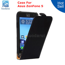Mobile Phone Accessories Flip Cover Leather Case for Asus Zenfone 5