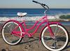 2014 classic pink cruiser bike with steel fender