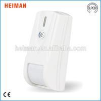 15 degree wired curtain PIR door sensor , curtain pir motion detector
