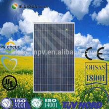Customized Cheapest professional bluesun poly 1000 watt solar panel