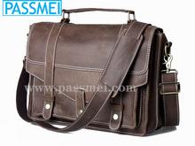 Handmade leather bag;man bag ;bag for business man
