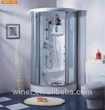 steam from shower
