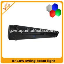 8*10W led pixel beam moving bar light rgbw 4in1 or white Cree LED bar light