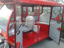 1200w 60v powerful motorized closed three wheeler rickshaw