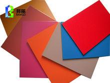 PVDF/PE acp acm building material wood grain aluminum siding