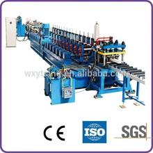 YTSING- YD- 4087 Passed ISO & CE Steel Rack Roll Forming Machine / Steel Rack Making Machine / Pallet Rack Roll Forming Machine