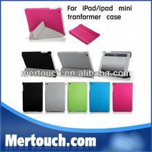 For ipad mini 2 stand case transformer smart case cover