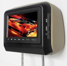 Headrest Placement and ce fcc rohs Certification headrest dvd player for car