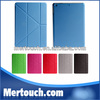 for ipad 5 for ipad air leather magnetic transformer Case stnad smart cover