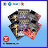 No.1255 sample free custom printing aluminum foil zip resealable bag