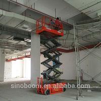10M lifting height mini scissor lifts for sale