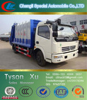 light garbage compactor, refuse disposal vehicle, small waste collection truck
