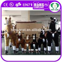 HI EN71 Promotional large adult rocking horses for sale