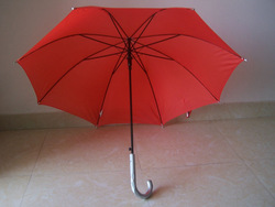 new inventions red color best buy electroplated frame umbrella metal ribs