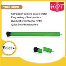 12v dc tubular motor noiseless remote control 35mm for roller shutter