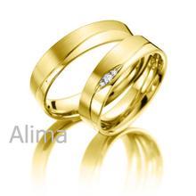 AGR0199 # gold ring 585