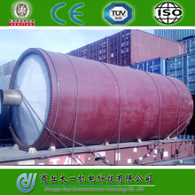 High oil rate, 100% Environmental, Waste Plastic To Oil Recycling Plant 20 Ton Capacity