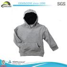 Grey Plain Varsity Jacket Wholesale With Hood