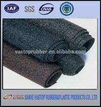 comfortable soft indoor crossfit in rolls or interlock rubber gym flooring
