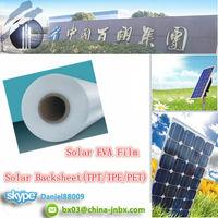 PV Material Solar Cell 3.2mm Solar Glass TPT/TPE/PET Backsheet Solar EVA Film For Encapsulation