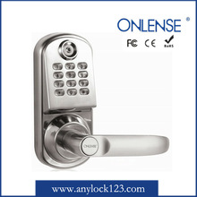 Small Electronic code number lock with backlinght keypad