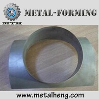 China manufacturer SPS straight collar saddle air duct pipe