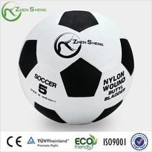 Zhensheng wholesale rubber baldder rubber football