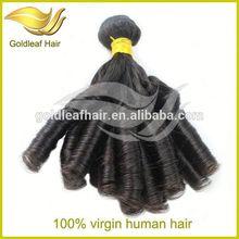 China's alibaba raw 100%natural virgin human hair brazlian aunty funmi hair