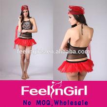 No moq backless cheap womens womens pirate costume transparent