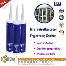 gp silicone raw silicone sealants