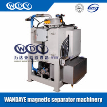 Clay mica mineral of rare metal Water cooling electromagnetic automatic slurry iron remover machine magnetic separator