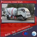 3- 5m3 foton caminhão betoneira, portátil mini misturador de cimento