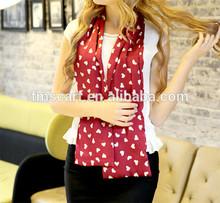 Latest high quality silk scarf china wholesale fashion scarf 2014 hot sale ladys fashion wholesale silk scarf