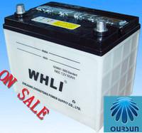 12V 60AH DIN60 N60 DIN 70super power dry car batteries