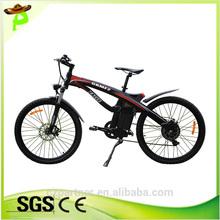 fashion electric mountain chainless motor e bike bicycle