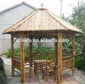 natural de bambu e gazebo pavilhão