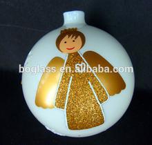 2014 New Christmas Decoration Supplies,Glass Decorative Christmas glass Ball