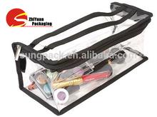Custom Cosmetic Bag Pvc Cosemetic Packaging With Zipper
