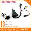 Competitive price h4-3 hid xenon lamp 35w 55w 75w 100w