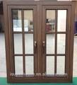 novo estilo de tamanho padrão de alumínio portas de madeira