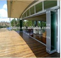 Latest home design aluminium door designs for folding door balcony french door