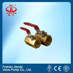 1pc brass threaded ball valve dn20