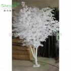 SJM082838 Artificial Tree Outdoor&Indoor Decorative Plants White Banyan Tree