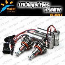 Top sale H8 40w C ree XPE2 1680lm led angel eyes car led marker headlight light day light conversion kit for BMW e92 e82 e90 e93