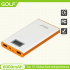 2014 popular business gift Portable smartphone charger travel power bank at china factory price