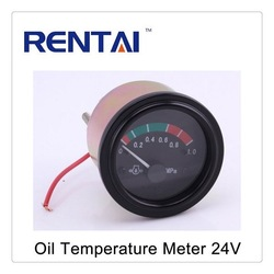 Oil Temperature Digital Meter 24V Plastic Electric Meter Cover