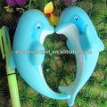 Eco- friendly borracha brinquedo peixes
