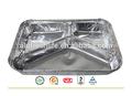 Aceptar la orden de encargo y tipo de bandeja de comida rápida de contenedores, Envase del papel de aluminio
