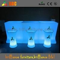 LED manicure tables wholesale / LED leisure light up bar table