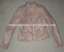 brasil style ladies leather jacket